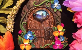 Spring Door by Jennifer Sorensen of Wishing Well Workshop