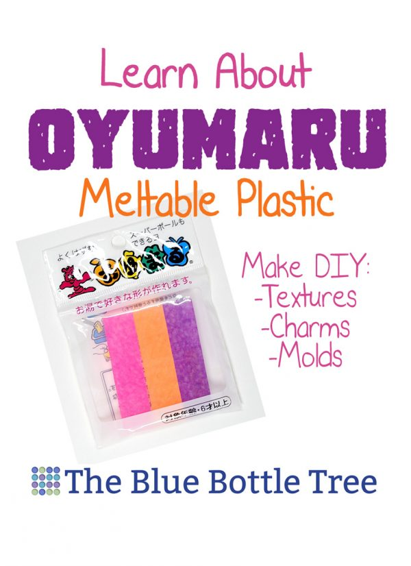 Oyumaru is a thermoplastic for crafts and polymer clay that makes a great reusable mold material. Great for textures and making charms from Sculpey and Fimo.