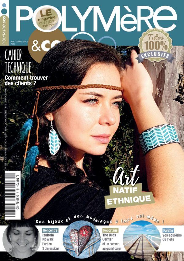 Polymere & Co is a French language polymer clay magazine.