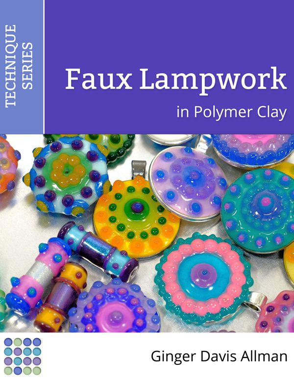 Learn to make lightweight, durable beads and pendants with the Faux Lampwork Polymer Clay Tutorial.