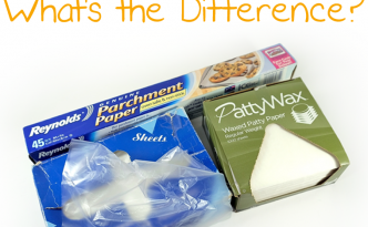 What's the difference between parchment paper, deli sheets, and waxed paper, and which should you use with polymer clay?