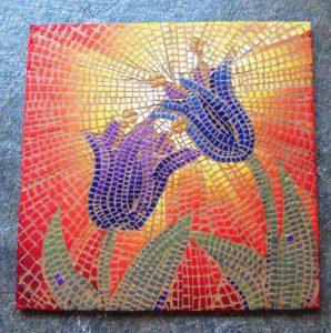 Mosaic by Pavla Čepelíková of Saffron Addict
