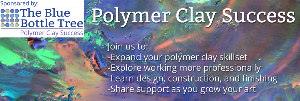 Join other growth-oriented polymer clay artists in the Polymer Clay Success Facebook group.