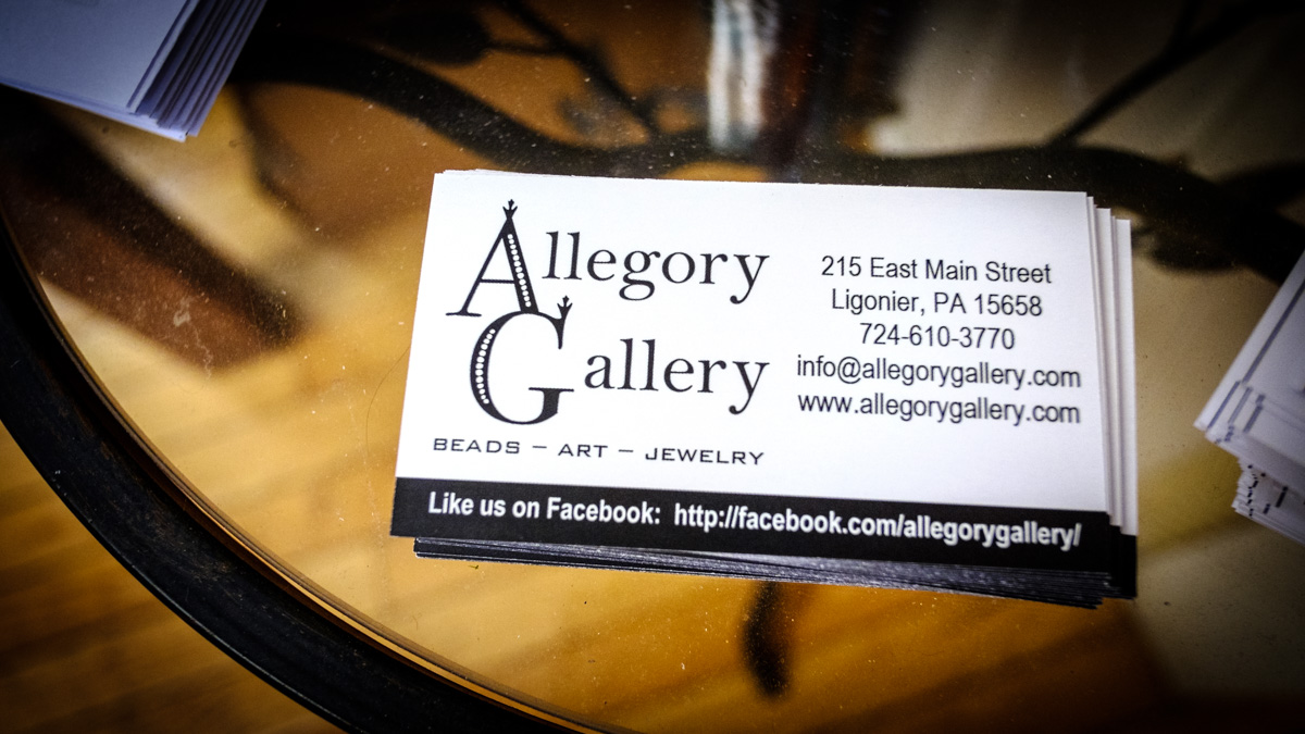 Allegory Gallery in Ligonier, Pennsylvania.