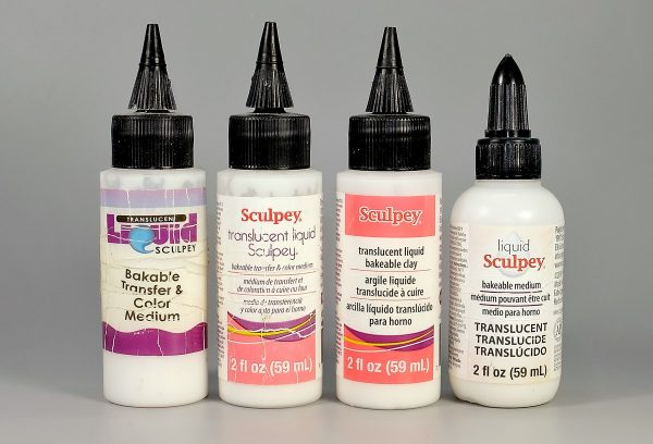 Translucent liquid Sculpey TLS has had many labelling changes over the years.