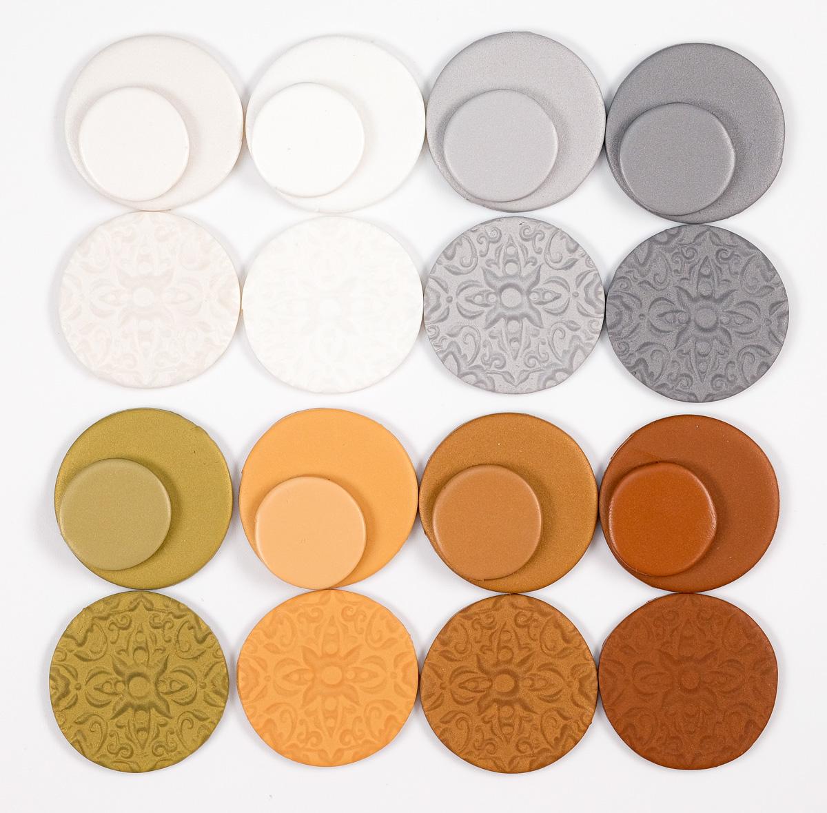 pardo jewellery clay in metallic colors