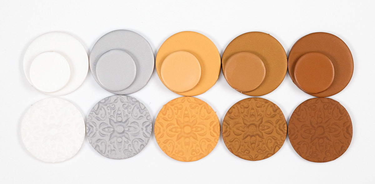 Pardo professional mica clay colors