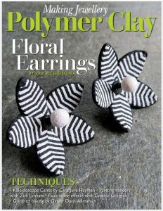 The cover of the special polymer clay issue of Making Jewellery Magazine.