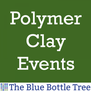 A listing of polymer clay events, classes, workshops.