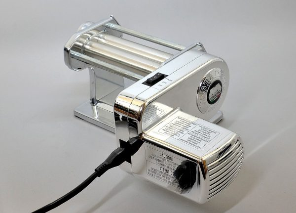 atlas pasta machine with atlas pasta drive motor