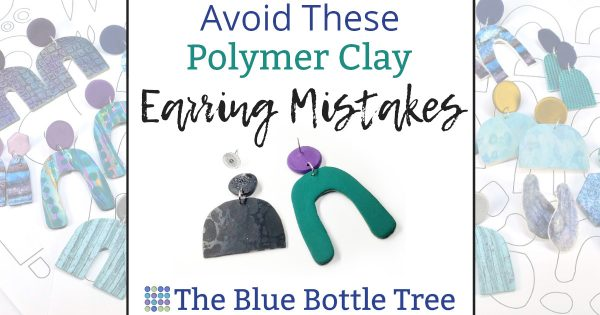 avoid these polymer clay earring mistakes