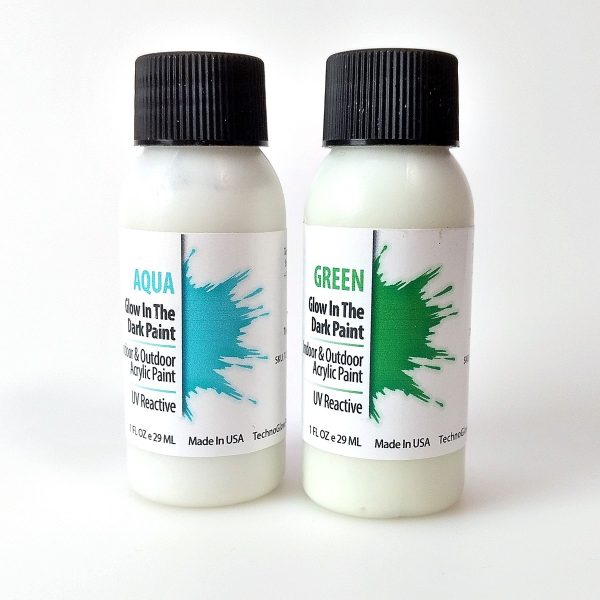 glow in the dark paint from TechnoGlow