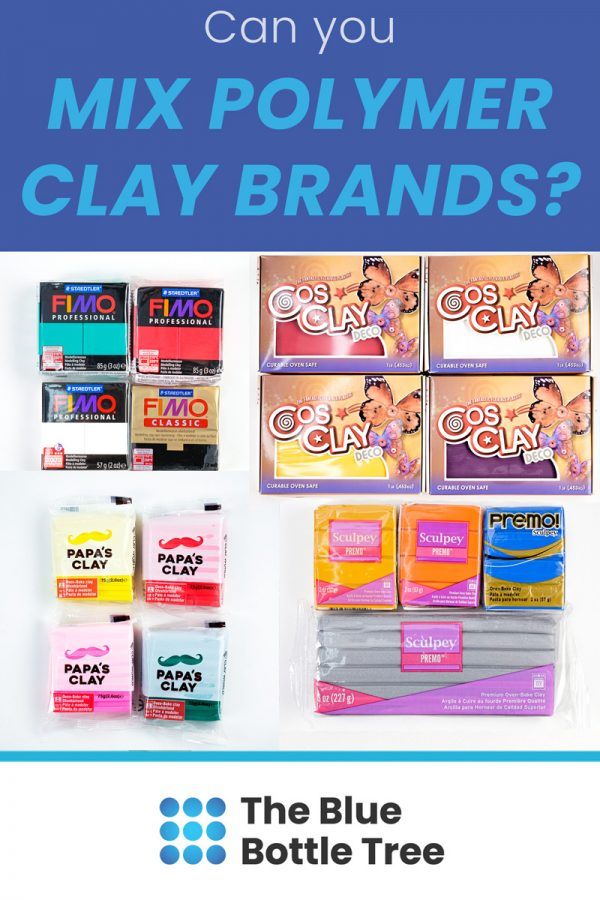 can you mix polymer clay brands