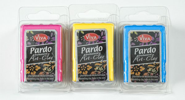 packages of pardo professional art clay polymer clay