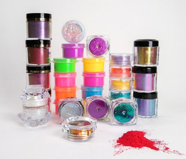 nail powders that can be used with polymer clay