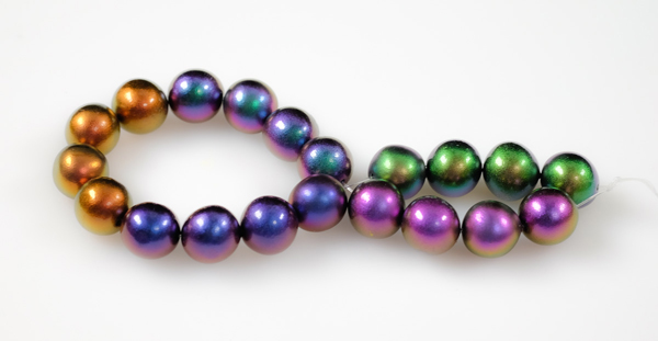 round colorshift beads